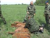 In Znaur region, South Ossetia, there was discovered a cache of ammunition. 20434.jpeg